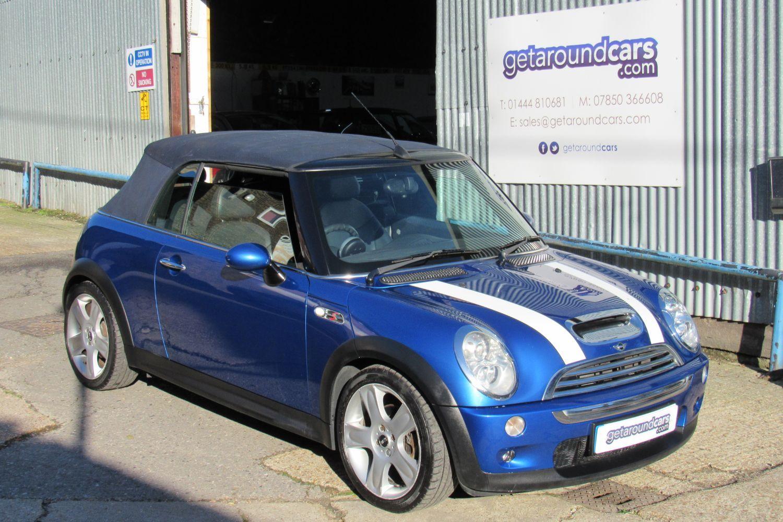 2005 MINI Cooper 1.6 Cooper S (Chili) Convertible 2d auto (05 reg)