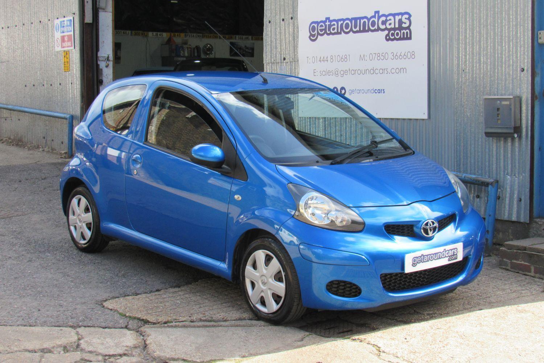 2010 Toyota AYGO 1.0 AYGO Blue VVT-i 3d (60 reg)